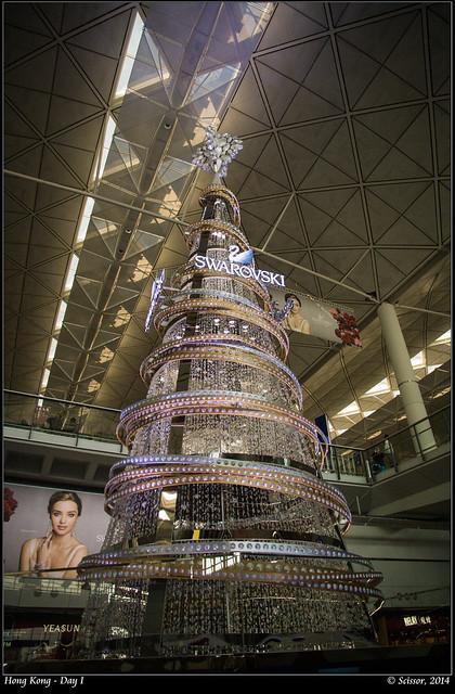 SWAROVSKI 聖誕樹