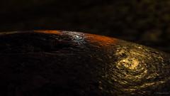 Ein Poller im Gegenlicht (phboehm) Tags: deutschland warnemnde wasser nacht rostock mecklenburgvorpommern hohedne