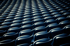 Stadium seats (Chris~Tian) Tags: abstract stadium seats allianzarena
