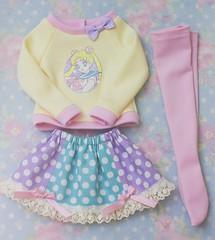 Sailor Moon Outfit (Cyristine) Tags: clothing dami slim sd bjd msd unoa elfdoll minifee