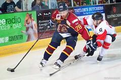 Basingstoke Bison Vs Guildford Flames (davidgsteadman) Tags: ice hockey flames guildford bison basingstoke