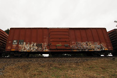 Wyse • Crae (Revise_D) Tags: graffiti revise sws tagging freight revised crae fr8 wyse bsgk a2m benching d230 fr8heaven fr8aholics revisedesigns revisedesign fr8bench benchingsteelgiants freightlyfe