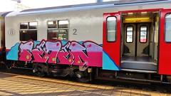 / Gent St-Pieters - 12 juni 2015 (Ferdinand 'Ferre' Feys) Tags: gent ghent gand belgium belgique belgië streetart artdelarue graffitiart graffiti graff urbanart train trainbomb urbanarte arteurbano ferdinandfeys