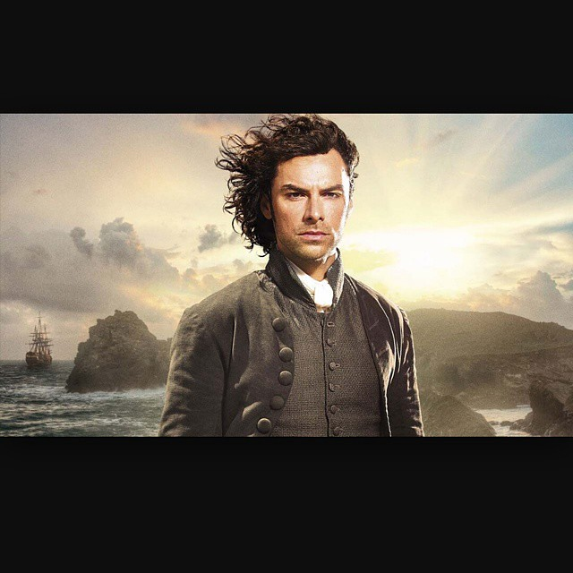 Be still my heart! Tonight is Poldark (pictured here. Mmmmmmm Kili!!), True Detective, The Last Ship, Halt and Catch Fire, Penny Dreadful, and The Crimson Fields.  Despite no GoT, this Sunday line up will do. #poldark #somuchgoodtv #heatingupthedvr #its