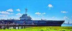 USS Yorktown (littlehall974) Tags: ocean sea ship aircraft jets charleston planes carrier ussyorktown