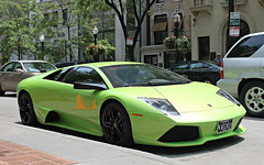 Lamborghini Murcilago LP640 (SPV Automotive) Tags: green sports car exotic lamborghini coupe supercar murcielago lp640