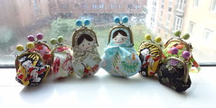 7.5cm Bubble Clips Frame Purse Series (OrangeZoo) Tags: doll handmade betty fairy fox grapes russian babushka boop matryoshka