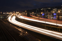 Interstate 5 (Curtis Gregory Perry) Tags: portland oregon interstate 5 five freeway highway night longexposure pdx northwest traffic trail streak blur light nikon d810 natë gau ноч нощ nit noc nat νύχτα notte nakts naktis noite lejl natt ночь éjszaka נאַכט रात 夜 夜晚 đêm gece nag usiku dare bosiu gabii gabi wengi alina malam po