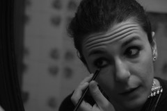 Make-up 3/4 (Mirko Radi) Tags: trucco rimmel make up specchio riflesso donna women mirror