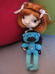 LIttle Giants Trio - Buka and Joker (Soneekk) Tags: bear doll artist ooak crochet bjd marvel amigurumi meek sprockets glum