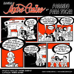Episdio 3 - Pagando para tocar (Madre Cassino) Tags: comics web cassino projeto madre