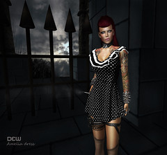 """DEW"" Amelia (Helensue Helendale ""DEW"") Tags: sl secondlife dew dewfashion"