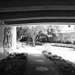 Martin St Bridge over San Antonio River, San Antonio, Texas 1306021556BW thumbnail