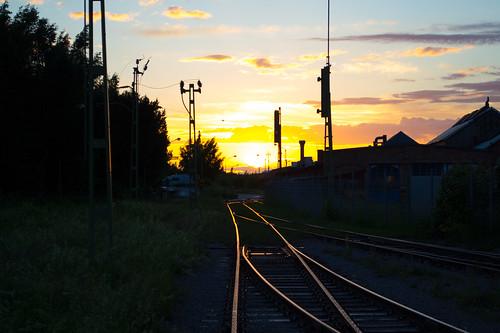 Glödande spåret by alpstedt, on Flickr