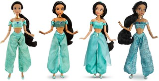 Jasmine Classic 12'' Dolls by the Disney Store - 2010-2013