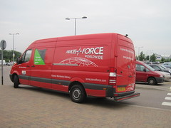 Turning red vans green IMG_6139 (tomylees) Tags: june tuesday van freeport carpark essex braintree parcelforce 2013