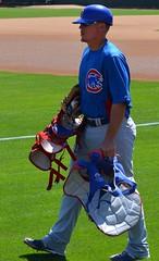 Steve Clevenger with gear (jkstrapme 2) Tags: jockstrap hot male cup jock pants baseball crotch tight catcher bulge