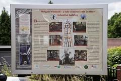 Holgate Windmill information board