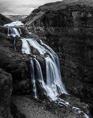 Silver Glymur (Joeywolf42) Tags: water silver river island waterfall iceland nikon wasser wasserfall urlaub north norden insel fluss icelandic silber glymur d90 ferienreise islndisch