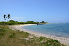 DSC_2985 (franbanks1 -( another day balder ) colin banks) Tags: sea seascape beach water boat sand bluesky antigua caribbean d7000