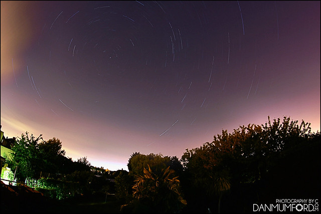First attempt at Startrails...
