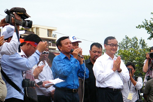 Kem Sokha & Sam Rainsy