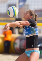 P8314080 (roel.ubels) Tags: beach sport beachvolleyball volleyball volleybal nk beachvolleybal 2013