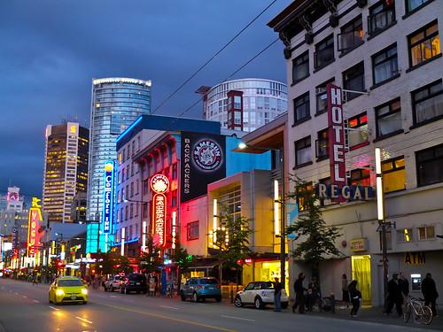 Flug und Ankunft in Vancouver
