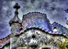Casa Batlló - Painted (jacobo_gonzalez_castrodeza) Tags: barcelona city colors contrast 50mm nikon cloudy bcn gaudi contraste catalunya soe jacobo hdr autofocus geometries d40 flickrestrellas ringexcellence blinkagain rememberthatmomentlevel1