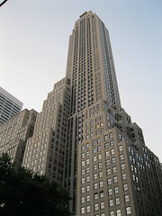 Rockefeller Center (Emmalucie Moss) Tags: rockefellercenter rockefeller abroad america buildings city happy famous cityscape height high holiday ny newyork photography pleased popular proud sunny student structure skyline sky scenary usa view