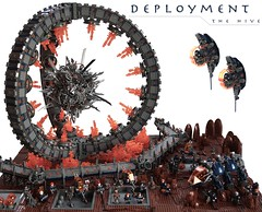 Deployment (Bart De Dobbelaer) Tags: lego space hive diorama
