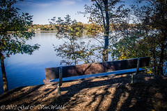 Come and Sit (gvonwahlde) Tags: trees lake water minnesota canon bench mn hdr basslake 60d canoneos60d timbershorespark