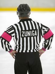 Referee Vic Zuniga (mark6mauno) Tags: ice hockey referee nikon western vic states lakewood nikkor league the d4 zuniga rinks wshl nikond4 400mmf28gvr westernstateshockeyleague therinks viczuniga 201314 lakewoodice therinkslakewoodice