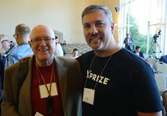 Mark Krynsky with Gordon Bell