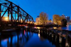 mke-2013-11-03 106_7_8_A (johndecember) Tags: bridge november usa fall wisconsin river gallery album milwaukee hdr railbridge mke milwaukeeriver walkerspoint menomoneeriver photomatixpro 2013 photoscape 1stplacebridge