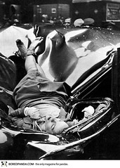 Evelyn McHale Suicide 1947 (Warrior Outrageous (formerly Pookitoots)) Tags: bw woman death blackwhite evelyn suicide empirestatebuilding limosine 1947 mchale evelynmchale