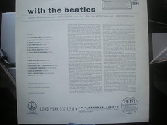 With The Beatles 50th Anniversary. (Jimmy Big Potatoes) Tags: album lp thefabfour 50thanniversary thebeatles withthebeatles