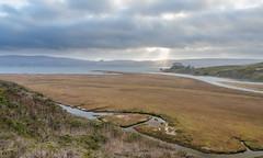 Coastal Impressions on Highway 1 (languitar) Tags: california usa water creek clothing unitedstates coat unitedstatesofamerica places highway1 tomales walkercreek lens:aperture=3556 lens:focallength=1685 lens:type=afsdxnikkor1685mm13556gedvr lens:maker=nikon