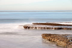 Tide/Wave Action on Swamis (jpmckenna - What Next????) Tags: ocean california longexposure beach waves cardiff swami