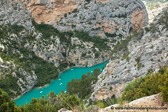 Gorge du Verdon, Provence, France (fabionodariphoto.com) Tags: blue summer cliff mountain lake france beach nature water rock horizontal forest river landscape outdoors europe day turquoise nopeople canyon land coastline westerneurope mountainrange tranquilscene frenchriviera landscaped alpesdehauteprovence traveldestinations famousplace provencealpescotedazur locallandmark naturallandmark beautyinnature uncultivated nonurbanscene lowangleview extremeterrain physicalgeography verdongorge lushfoliage europeanalps horizonoverland verdonriver