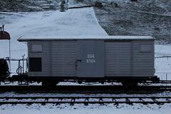 Gedeckter Gterwagen SGA K104 am Bahnhof Wasserauen im Kanton Appenzell Innerrhoden in der Schweiz (chrchr_75) Tags: train schweiz switzerland suisse swiss eisenbahn zug ab christoph dezember svizzera bahn treno schweizer appenzeller suissa chrigu schmalspur 1312 2013 bahnen chrchr hurni chrchr75 chriguhurni chriguhurnibluemailch dezember2013 hurni131228 albumbahnabappenzellerbahn