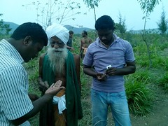 "With Dr.Nammalwar, Organic Farming Scientist • <a style=""font-size:0.8em;"" href=""http://www.flickr.com/photos/44124326026@N01/11666914034/"" target=""_blank"">View on Flickr</a>"