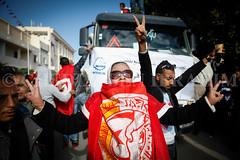 UGTT general strike in Gafsa (chedly ben ibrahim Photojournalist Tunisia Tunisie) Tags: tunisia protest violence gafsa ugtt generalstike urnest