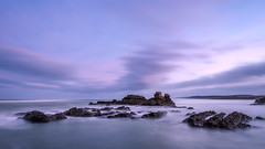 The Dawning (Nick Twyford) Tags: longexposure sea newzealand seascape clouds sunrise dawn nikon rocks waves wideangle auckland nz northisland westcoast earlymorninglight portwaikato colourimage leefilters 1024mm d7000 lee09nd lee06gndsoft