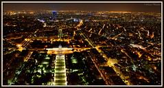 Paris by Night (Renal Bhalakia) Tags: paris france night iso3200 europe cityscape nightlights nightshot eiffeltower champdemars nightview highiso cityview colemilitaire tourmontparnasse montparnassetower parisbynight nikond600 topofeiffel parismilitaryschool renalbhalakia nikon28300mmvr