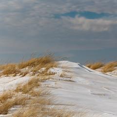 Sleeping dunes (aerojad) Tags: winter snow ice stjoseph lakemichigan silverbeach