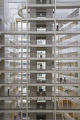 (Matthijs Borghgraef | Kwikzilver) Tags: city urban building netherlands architecture modern matthijsborghgraef cityhall interior denhaag richardmeier atrium thehague kwikzilver
