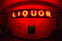Liquor Neon Sign (nan palmero) Tags: woman girl neon texas unitedstates longhair samsung fisheye liquor neonlights neonsign lamberts 10mm samsungcamera 10mmfisheye lambertsbbq lambertsbarbeque imagelogger galaxynx samsunggalaxynx ditchthedslr