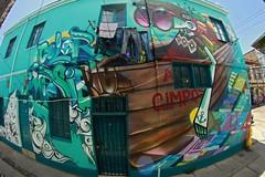 Color Imposible Crew (COLOR IMPOSIBLE CREW) Tags: chile west color graffiti valparaiso cerro crew asie painters 2012 polanco zade imposible jkr