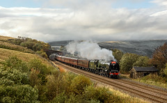 The Thames Clyde Express (Kingmoor Klickr) Tags: sc garsdale duchessofsutherland settlecarlisle 46233 thamesclydeexpress mainlinesteam